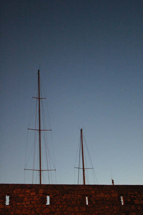 Size Matters: 3 sailing yachts in the harbour of Antibes
