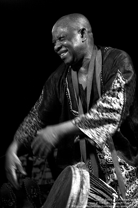 Out of Africa - drumming masters live at the Spitz: Koko Kanyinda